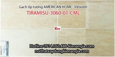 Gạch American ốp tường TIRAMISU-3060-01-CML