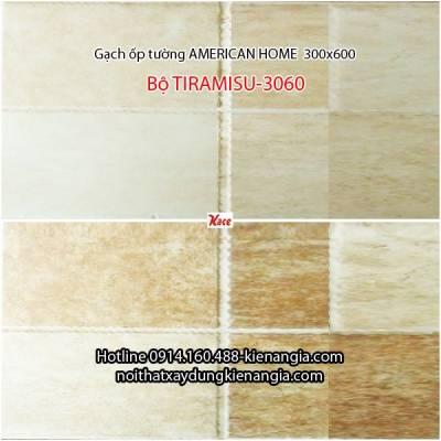 Gạch american ốp tường bộ TIRAMISU 3060