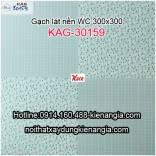 Gạch lát WC 300X300 KAG-30159