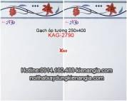 Gạch ốp tường giá rẻ 25x40 KAG-2790