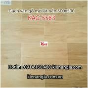 Gạch vân gỗ mờ lát nền 500x500 KAG-5583
