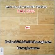 Gạch vân gỗ mờ lát nền 500x500 KAG-5585