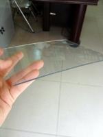 Tấm polycarbonate đặc ruột dày 2.4mm