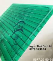Tấm lợp polycarbonate rỗng ruột dày 6mm