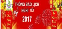 Music Star Việt Nam Thông Báo lịch nghỉ tết âm lịch 2017
