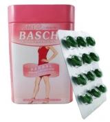 Thuốc Giảm Cân Baschi Hộp Sắt hồng từ thảo dược thiên nhiên thái lan