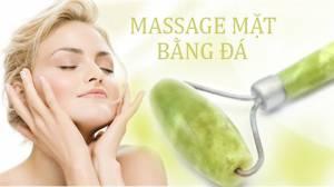 Cây Lăn Massage Mặt Đá Cẩm Thạch Spa
