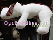 Chó lười nhồi bông khổng lồ dễ thương