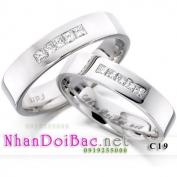 Nhẫn bạc, nhẫn đôi C19, Có nhau trọn đời