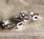 Nhẫn bạc, nhẫn cặp C21, Our love
