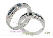 Nhẫn cặp, nhẫn bạc C24, Đam mê