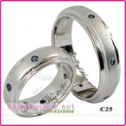 Nhẫn đôi, nhẫn bạc C25, Say đắm