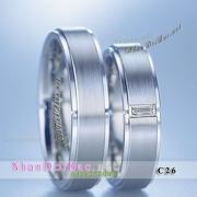 Nhẫn đôi, nhẫn bạc C26, Cool Love