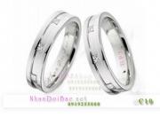 Nhẫn đôi bạc C10, Cool