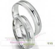 Nhẫn đôi, nhẫn bạc C12, Sang trọng