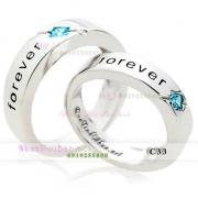 Nhẫn đôi, nhẫn cặp C33, Forever