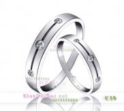 Nhẫn bạc, nhẫn đẹp C39, Mắt yêu