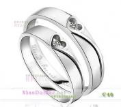 Nhẫn bạc, nhẫn đôi C40, Tin yêu