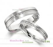Nhẫn đôi, nhẫn bạc, C44, Giọt sương mai
