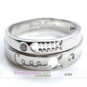 Nhẫn cặp bạc, nhẫn đẹp, C54, Phải lòng