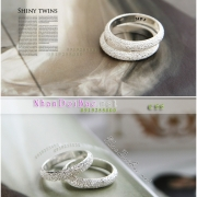 Nhẫn bạc, nhẫn cặp, C55, Ước thề