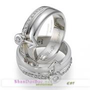 Nhẫn bạc, nhẫn cặp, C57, Lối tình yêu