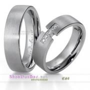 Nhẫn cặp, nhẫn bạc, C61, Yêu nhau