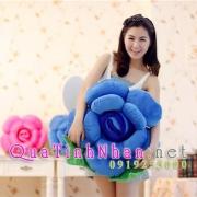 Gối hoa hồng xanh, hoa hồng xanh nhồi bông, tình yêu mênh mông không giới hạn