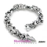 Lắc bạc, lắc tay nam DB091, Ý Chí