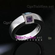 Nhẫn độc thân mặt đá xoay R1 | Nhẫn bạc My Lucky Star