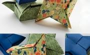 3 cách gấp hộp đựng đồ hộp giấy origami đẹp