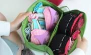 Túi đựng đồ lót có nắp đi du lịch