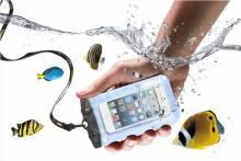Túi Chống Nước Điện Thoại Tteoobl Iphone 5 5S T9B SamSung Sony 4.6'