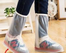 Bọc giày đi mưa cổ cao nam nữ HOT 2017