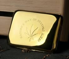 Hộp Đựng Thuốc Lá TeamPilston Mạ Vàng X1