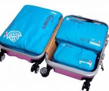 Set 3 túi đựng quần áo du lịch công tác GOX