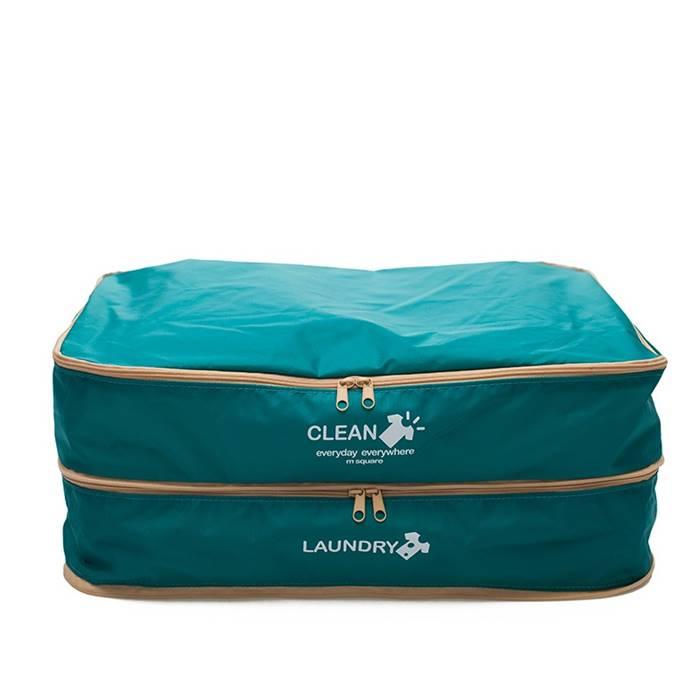 Túi đựng quần áo 2 tầng Msquare 40*27*16cm