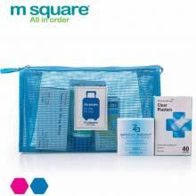 Túi lưới đựng mỹ phẩm Msquare