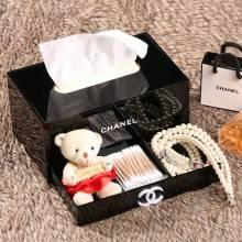 Khay đựng mỹ phẩm khăn giấy Chanel