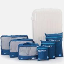 Set 6 túi du lịch chống nước Zemzem xanh navy