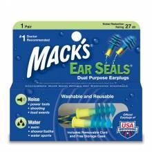 Bịt tai chống ồn chống nước bơi có dây chính hãng Mack's Mỹ