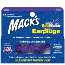 Bộ 2 nút tai bơi chống nước chống ồn người lớn Mỹ Mack's Aqua Block