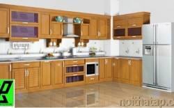 cách sắp xếp đồ đạc trong tủ bếp đẹp của gia đình bạn