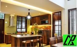 Những ưu nhược điểm của tủ bếp làm bằng gỗ tự nhiên