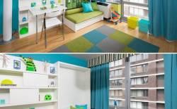 Giường ngủ - giường âm tiện ích cho ngôi nhà nhỏ