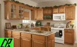 Sử dụng tủ bếp gỗ tự nhiên cho căn bếp đẹp là thông minh
