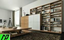 tư vấn thiết kế nội thất bằng gỗ cho phòng khách sang trọng