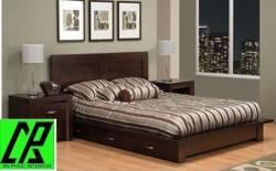 làm đẹp cho phòng ngủ nhờ nội thất gỗ óc chó