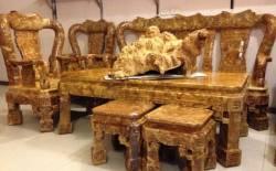 Cách bảo quản bàn ghế phòng khách gỗ tự nhiên tốt nhất cho nhà bạn