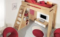 Các kiểu thiết kế giường tuổi teen đẹp